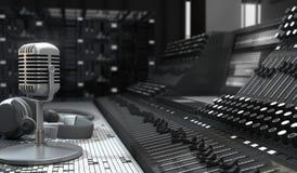 Estudio de los sonidos Foto de archivo