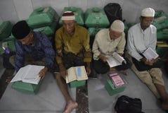 Estudio del quran del al del tadarus Imagen de archivo libre de regalías
