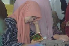 Estudio del quran del al del tadarus Fotos de archivo