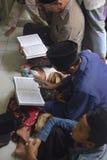 Estudio del quran del al del tadarus Foto de archivo