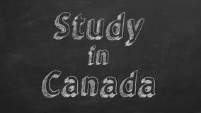 Estudio en Canad?