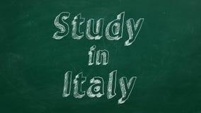 Estudio en Italia