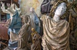 Estudio, escultura y estatuas del artista imagen de archivo libre de regalías