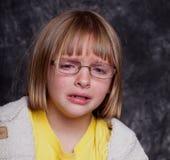 Estudio tirado de un niño gritador Fotos de archivo libres de regalías