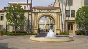 Estudios cinematográficos de Paramount Pictures en Los Angeles - California, los E.E.U.U. - 18 de marzo de 2019 almacen de metraje de vídeo
