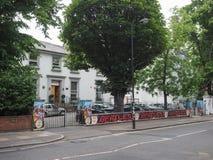 Estudios de Abbey Road en Londres Imagen de archivo