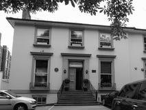 Estudios de Abbey Road en Londres blanco y negro Imagenes de archivo