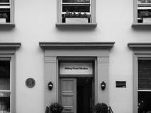 Estudios de Abbey Road en Londres blanco y negro Fotos de archivo libres de regalías