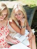 Estudo ao ar livre Foto de Stock Royalty Free