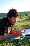 Estudo ao ar livre Fotografia de Stock