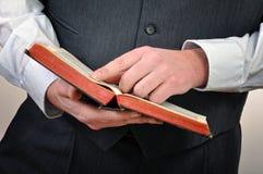 Estudo da Bíblia Imagem de Stock