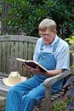 Estudo da Bíblia Fotografia de Stock Royalty Free