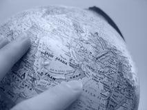 Estudo da terra: Médio Oriente imagem de stock royalty free