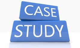 Estudo de caso Imagem de Stock Royalty Free
