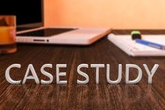 Estudo de caso Fotos de Stock