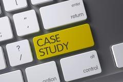 Estudo de caso - teclado amarelo 3d ilustração royalty free
