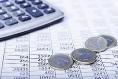 Estudo de oportunidades financeiras Fotos de Stock