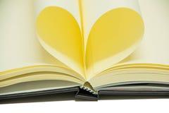 Estudo de papel dos objetos do fundo da folha do caderno Foto de Stock