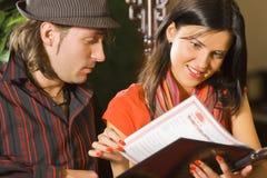 Estudo do menu Imagem de Stock Royalty Free