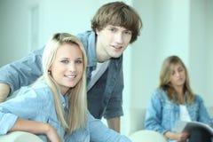 Estudo dos adolescentes Imagens de Stock Royalty Free