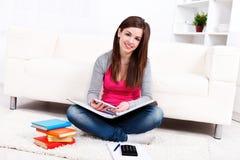 Estudo em casa Fotografia de Stock Royalty Free