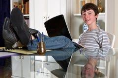 Estudo em casa Imagem de Stock