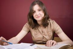 Estudo Home Fotografia de Stock Royalty Free