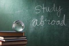 Estudo no exterior imagem de stock royalty free