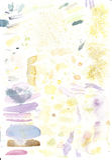 Estudos da cor que misturam na aquarela Fotografia de Stock Royalty Free
