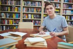 Estudos de faculdade Imagens de Stock