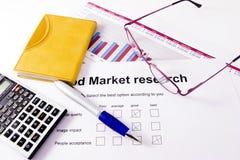 Estudos de mercado fotos de stock