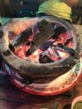 Estufa caliente Foto de archivo libre de regalías
