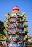 Estufa chinesa colorida Foto de Stock Royalty Free