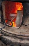 Estufa da cerâmica Fotos de Stock Royalty Free
