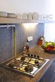 Estufa de cocina Foto de archivo libre de regalías