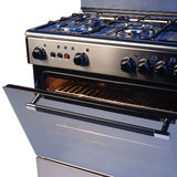 Estufa de cocina fotografía de archivo libre de regalías