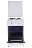 Estufa de cocina eléctrica Imágenes de archivo libres de regalías