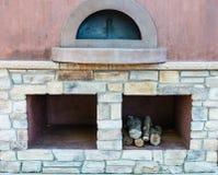 Estufa de cocinar al aire libre Imagen de archivo