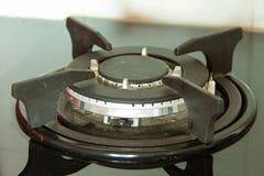 Estufa de gas Fotografía de archivo libre de regalías