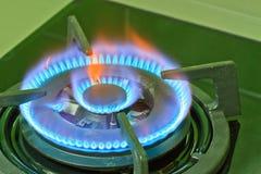 Estufa de gas Fotografía de archivo