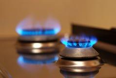 Estufa de gas Fotos de archivo