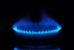 Estufa de gas Imagen de archivo libre de regalías