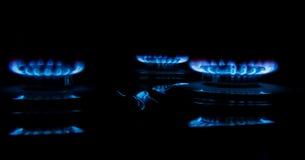 Estufa de gas de la hornilla Fotografía de archivo libre de regalías