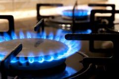Estufa de gas. Primer Fotografía de archivo