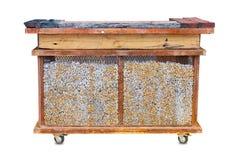 Estufa de la parrilla de la barbacoa Fotos de archivo libres de regalías