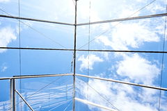 Estufa do teto de vidro Fotografia de Stock Royalty Free