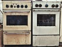 Estufas viejas Foto de archivo