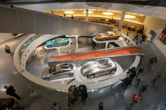 ESTUGARDA, ALEMANHA - 30 DE DEZEMBRO DE 2018: Interior do museu foto de stock
