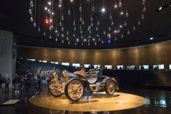 ESTUGARDA, ALEMANHA - 30 DE DEZEMBRO DE 2018: Interior do museu imagem de stock royalty free