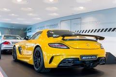 Estugarda, Alemanha - 3 de fevereiro de 2018, Mercedes Benz Muse imagem de stock royalty free